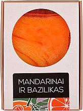 "Духи, Парфюмерия, косметика Ароматическое мыло ""Мандарин с базиликом"" - Aromika Mandarin and Basil Soap"