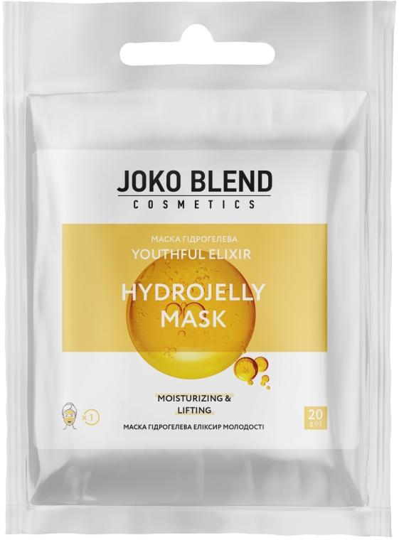 Маска гидрогелевая для лица - Joko Blend Youthful Elixir Hydrojelly Mask