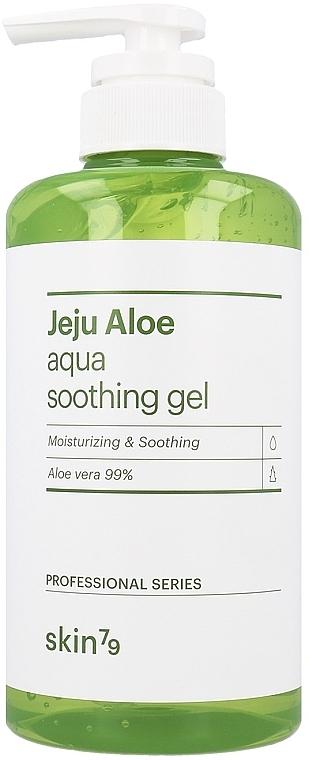 Успокаивающий гель для лица, тела и волос - Skin79 Jeju Aloe Aqua Soothing Gel