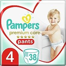 Духи, Парфюмерия, косметика Подгузники-трусики Premium Care Pants Maxi 4 (9-15 кг), 38 шт - Pampers