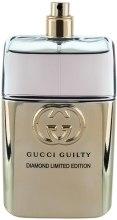 Духи, Парфюмерия, косметика Gucci Guilty Pour Homme Diamond Limited Edition - Туалетная вода (тестер без крышечи)