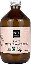 Духи, Парфюмерия, косметика Мыло для бритья - Fair Squared Apricot Shaving Soap Intimate