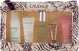 Парфумерія, косметика Набір - Caudalie(f/mousse/50ml+f/water/30ml+f/ser/10ml+f/cr/10ml+eye/cr/5ml)