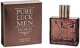 Духи, Парфюмерия, косметика Linn Young Pure Luck Men Secrets - Туалетная вода