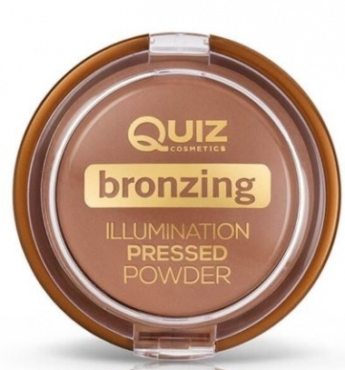 Пудра-бронзер - Quiz Cosmetics Bronzing Illumination Powder