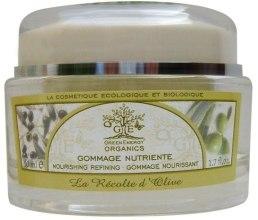 Духи, Парфюмерия, косметика Восстанавливающий скраб для лица с экстрактом оливки - Green Energy Organics Face Scrub D'Olive