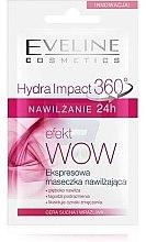 Духи, Парфюмерия, косметика Экспресс-маска увлажняющая - Eveline Cosmetics Hydra Impact 360