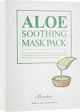 Духи, Парфюмерия, косметика Увлажняющая маска для лица - Benton Aloe Soothing Mask Pack