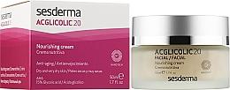 Нічний поживний крем проти старіння шкіри - SesDerma Laboratories Acglicolic 20 Nourishing Cream — фото N2