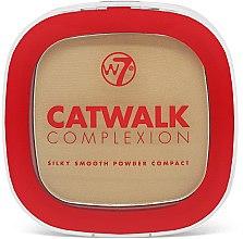 Духи, Парфюмерия, косметика Компактная пудра для лица - W7 Catwalk Complexion Compact Powder