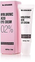 Духи, Парфюмерия, косметика Крем для кожи вокруг глаз с гиалуроновой кислотой 0,2% - Mr.Scrubber Hyaluronic Acid Eye Cream