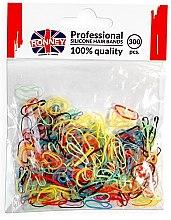Духи, Парфюмерия, косметика Резинки силиконовые, разноцветные - Ronney Professional Silicone Hair Bands