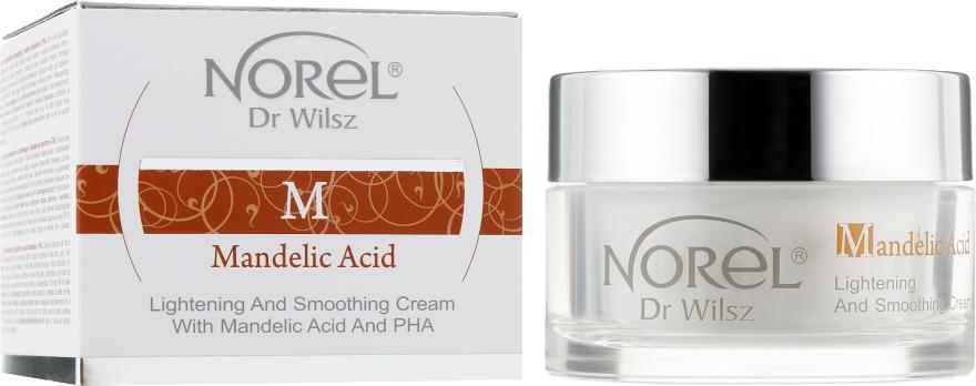 Осветляющий разглаживающий морщины крем с миндальной кислотой - Norel Mandelic Acid Lightening