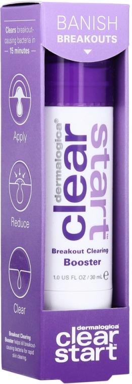 Средство для очищения воспалений на лице - Dermalogica Clear Start Breakout Clearing Booster — фото N2