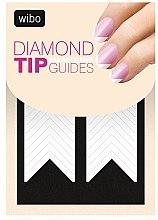 Духи, Парфюмерия, косметика Наклейка-трафарет для французского маникюра - Wibo Diamond Manicure Tip Guides