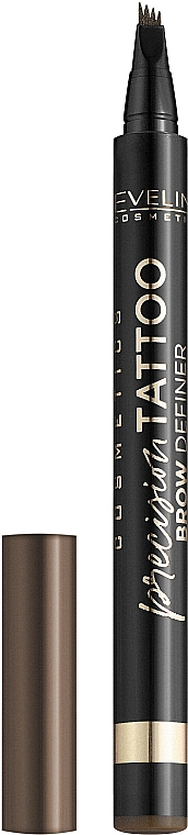 Маркер для бровей - Eveline Cosmetics Precision Tattoo Brow Definer