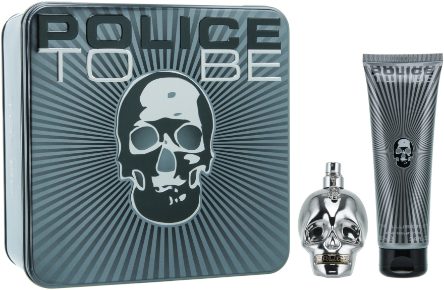 Police To Be Men - Набор (edt/75ml + sh/100ml)