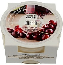 Духи, Парфюмерия, косметика Ароматическая свеча - House of Glam Sweet Cherry Liquer Candle (мини)