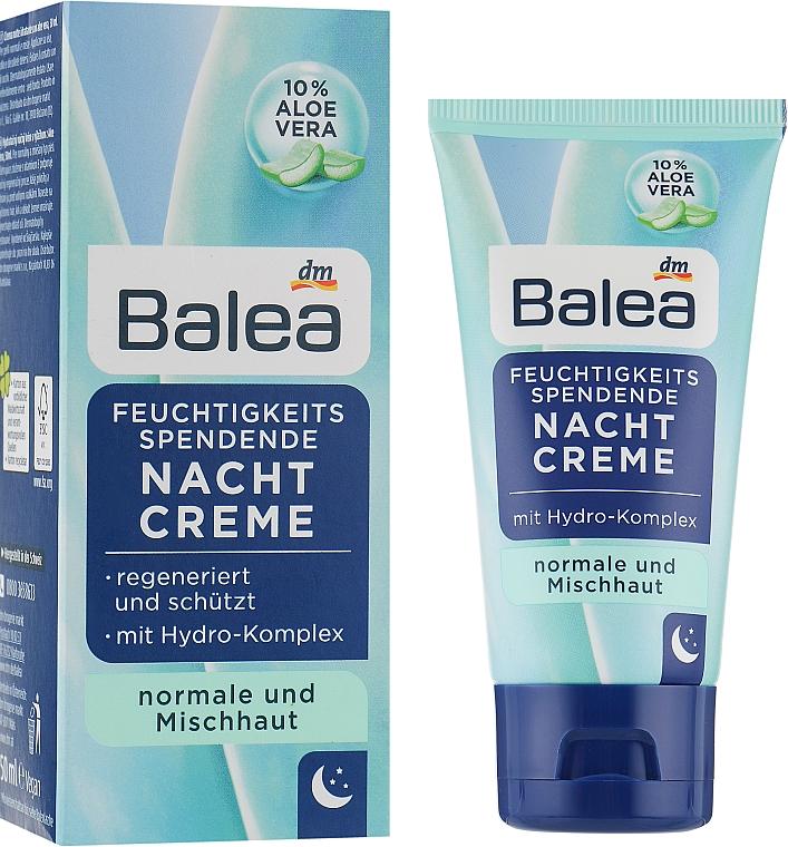 Ночной увлажняющий крем для лица - Balea Nachtcreme Feuchtigkeits Spendend
