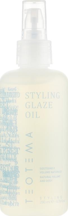 Моделирующее масло блеск и объем - Teotema Care Styling Glaze Oil
