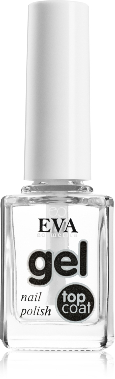 """Лак для ногтей """"Эффект гелевого маникюра"""" - Eva Cosmetics Proffi Nail Gel Top Coat — фото N1"""