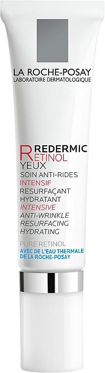 Интенсивный антивозрастной корректирующий увлажняющий концентрат для кожи вокруг глаз - La Roche-Posay Redermic Retinol Eyes