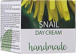 Духи, Парфюмерия, косметика Дневной крем для лица с экстрактом улитки - Hristina Cosmetics Handmade Snail Day Cream