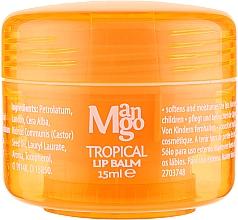 Духи, Парфюмерия, косметика Бальзам Для Губ ''Тропическое Манго'' - Mades Cosmetics Body Resort Tropical Mango Lip Balm