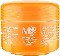 Парфумерія, косметика Бальзам Для Губ - Mades Cosmetics Body Tropical Resort Mango Lip Balm