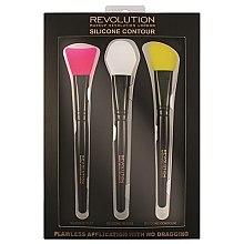 Духи, Парфюмерия, косметика Набор силиконовых кистей для контурирования - Makeup Revolution Silicone Contour Brush Set