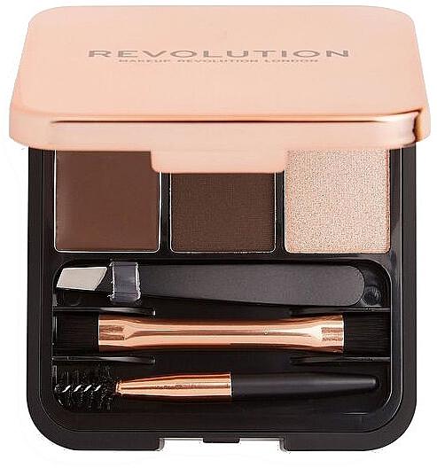 Набор для бровей - Makeup Revolution Brow Sculpt Kit