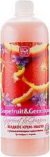 """Духи, Парфюмерия, косметика Жидкое крем-мыло """"Грейпфрут и герань"""" - Bioton Cosmetics Active Fruits Grapefruit & Geranium Soap"""