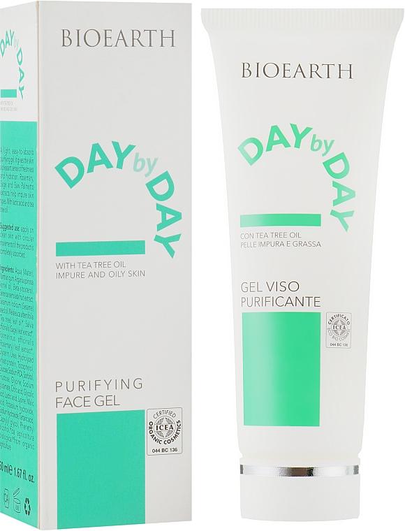 Гель для кожи на основе чайного дерева - Bioearth Day By Day Clarifying Facial Gel