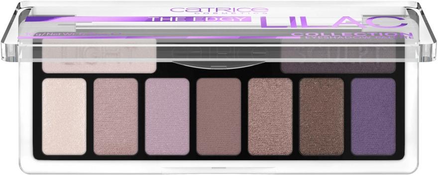 Палетка теней для век - Catrice The Edgy Lilac Collection Eyeshadow Palette — фото N2