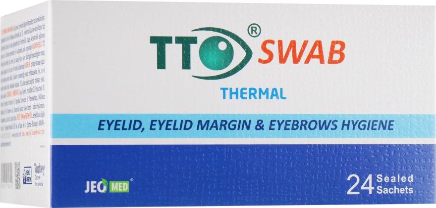 Влажные салфетки для глаз - TTO Thermal