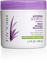 Духи, Парфюмерия, косметика Маска для увлажнения сухих волос - Biolage Hydrasource Mask For Dry Hair
