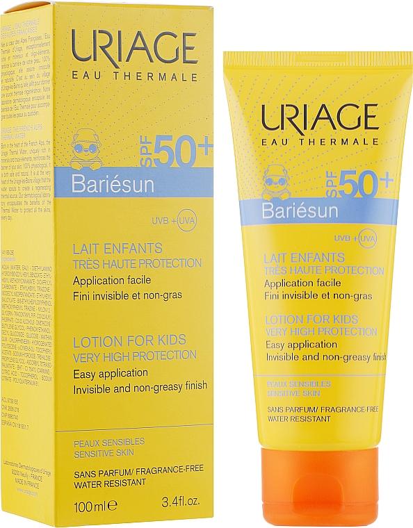 Барьесан солнцезащитное молочко для детей SPF50+ - Uriage Bariesun Enfants
