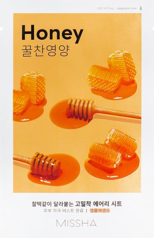 Питательная тканевая маска для лица - Missha Airy Fit Sheet Mask Honey