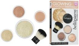 Духи, Парфюмерия, косметика Набор для макияжа с эффектом сияния кожи - Bellapierre Glowing Complexion Essentials Kit