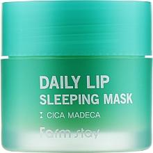 Духи, Парфюмерия, косметика Ночная маска для губ с центеллой - FarmStay Daily Lip Sleeping Mask Cica Madeca