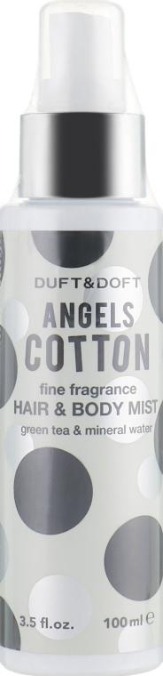 Мист для волос и тела - Duft & Doft Angels Cotton Fine Fragrance Hair & Body Mist