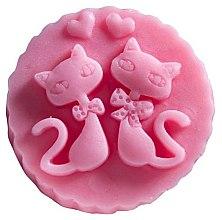 "Духи, Парфюмерия, косметика Мыло натуральное ""Два кота"" с ароматом вишни - LaQ Happy Soaps"