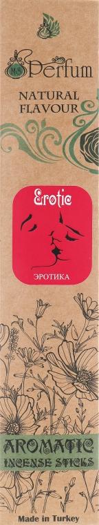 "Аромапалочки с успокаивающим ароматом ""Эротика"" - MSPerfum"