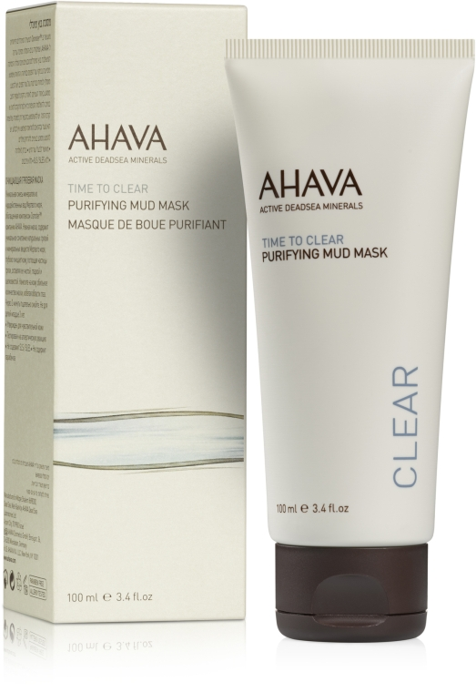 Очищающая маска для лица - Ahava Time To Clear Purifying Mud Mask
