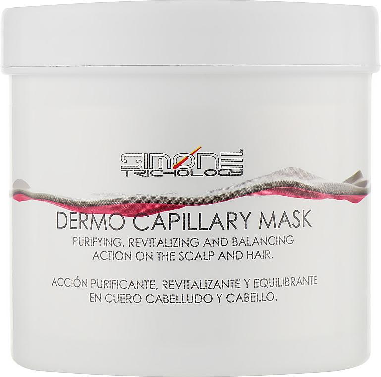 "Маска-пилинг для волос ""Дермокапилляр"" - Simone Trichology Dermo Capillary Mask Treatment"
