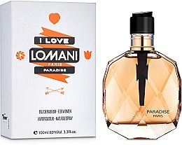 Духи, Парфюмерия, косметика Lomani Paradise - Парфюмированная вода