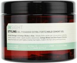 Духи, Парфюмерия, косметика Гель экстра сильной фиксации для волос - Insight Styling Hold Cement Gel