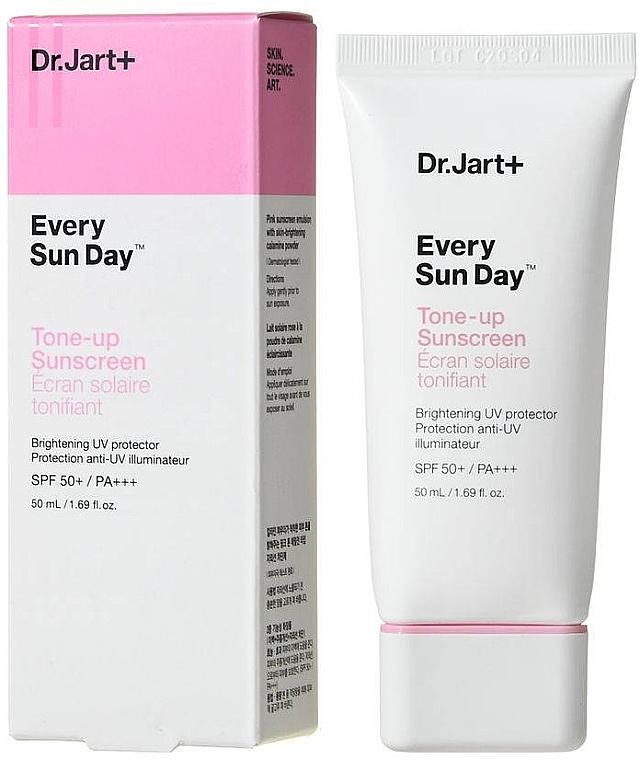 Тонирующий солнцезащитный крем - Dr.Jart+ Every Sun Day Tone-up Sunscreen SPF50+