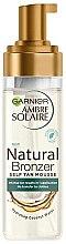 Парфумерія, косметика Мус-автозасмага - Garnier Ambre Solaire Natural Bronzer Intense Clear Self Tan Mousse