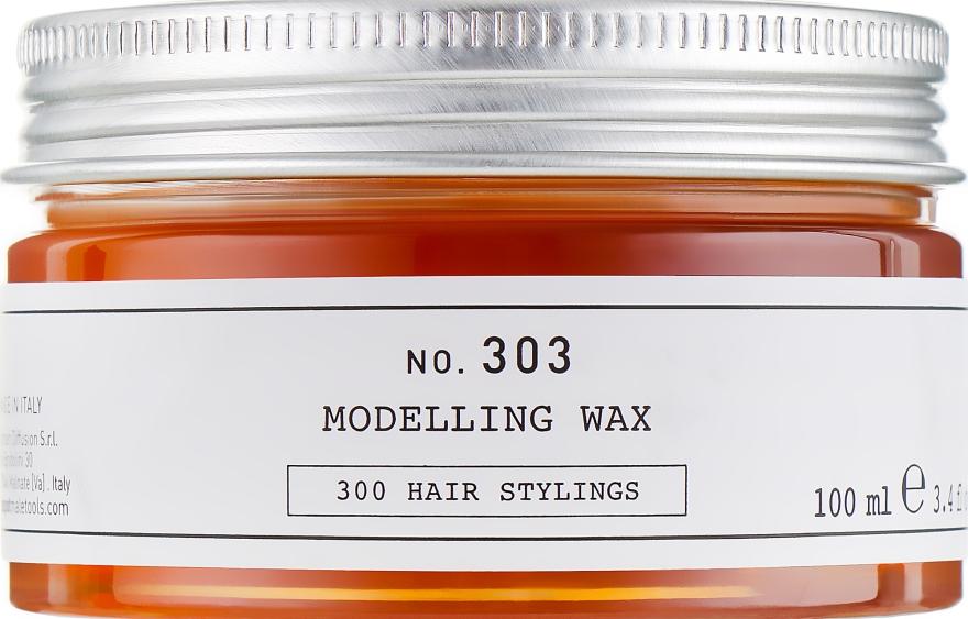 Моделирующий воск для волос - Depot Hair Styling 303 Modelling Wax